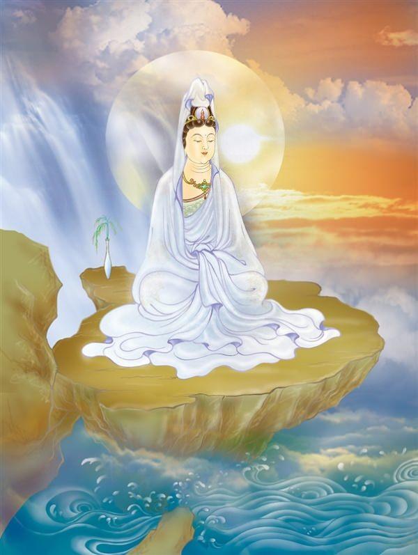 观世音菩萨身着白衣的象征意义是什么