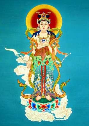 虚空藏菩萨的佛像介绍