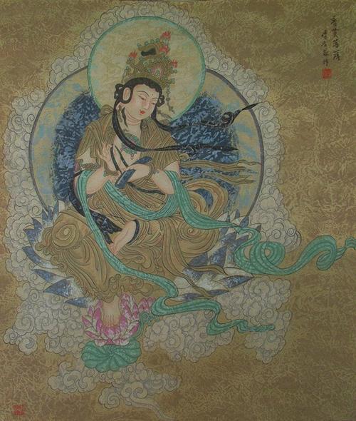 坚勇菩萨--造佛形象会有无量功德