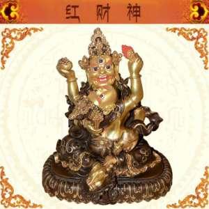 藏传佛教红财神