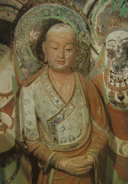 西天祖师之八祖佛陀难提尊者