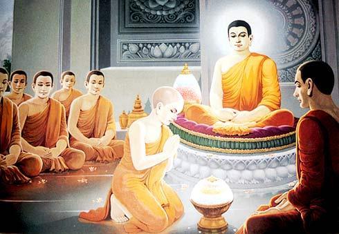 《五灯会元》卷一:八祖佛陀难提尊者