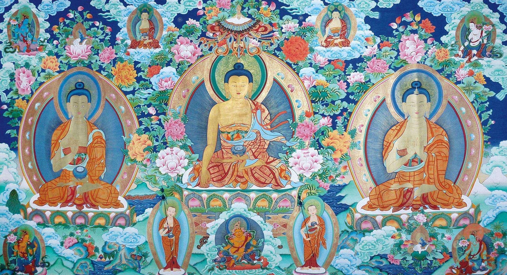 寺院三尊佛的表法之意?