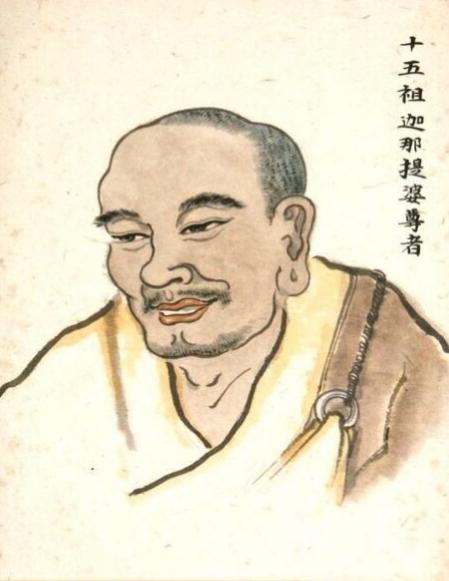 禅宗法脉之十五祖迦那提婆尊者