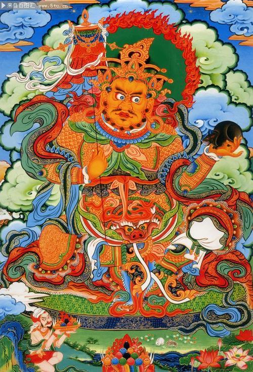 多闻天王是古印度的财神吗