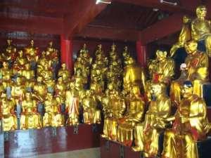 在佛教里五百罗汉是什么角色